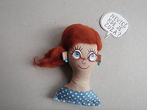 Magnetky - Dievčatko - magnetka - 10330516_