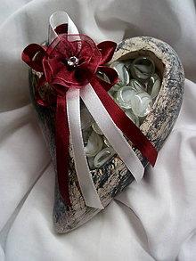 Pierka - bordové pierko pre rodičov 3 - 10331126_