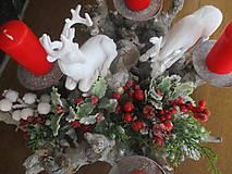 Dekorácie - Vianočný svietnik - 10331232_