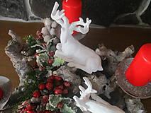 Dekorácie - Vianočný svietnik - 10331246_