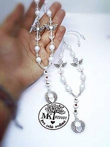 Iné šperky - Strážni anjeli pre zaľúbených - 10330821_