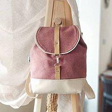 Batohy - Batoh (ružovo-béžový) - 10328203_
