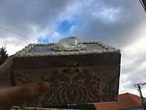 Krabičky - Šperkovnica - POKLAD NA STRIEBORNOM JAZERE - 10330054_