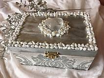 Krabičky - Šperkovnica - POKLAD NA STRIEBORNOM JAZERE - 10330055_
