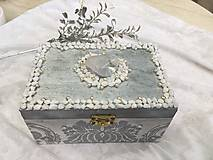 Krabičky - Šperkovnica - POKLAD NA STRIEBORNOM JAZERE - 10330057_