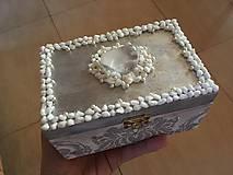 Krabičky - Šperkovnica - POKLAD NA STRIEBORNOM JAZERE - 10330062_