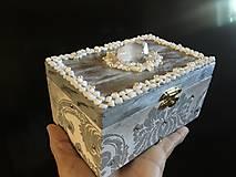 Krabičky - Šperkovnica - POKLAD NA STRIEBORNOM JAZERE - 10330063_