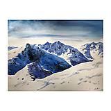 Obrazy - Sneh v horách - 10330370_