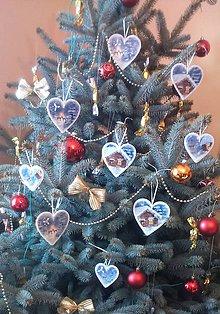 Dekorácie - Vianoce - SADA 9 ks vianočných ozdôb - Zimná krajinka - 10331583_