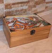 Krabičky - Krabica na všeličo - POD  HOROU - 10331734_