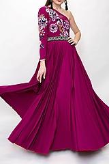 Šaty - Vyšívané šaty Poľana - 10329317_