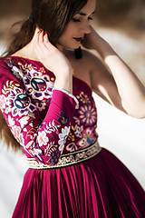 Šaty - Vyšívané šaty Poľana - 10329335_