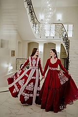 Šaty - Maľované šaty Slavianka - 10329391_