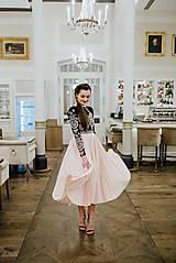 Šaty - Plisované šaty Slavianka - 10329429_
