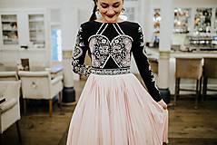 Šaty - Plisované šaty Slavianka - 10329431_