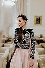 Šaty - Plisované šaty Slavianka - 10329432_