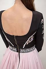 Šaty - Plisované šaty Slavianka - 10329436_