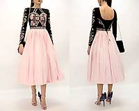 Šaty - Plisované šaty Slavianka - 10329438_
