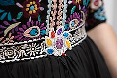 Šaty - Plisované šaty Slavianka - 10329520_
