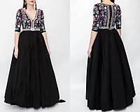Šaty - Plisované šaty Slavianka - 10329524_