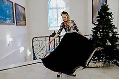 Šaty - Plisované šaty Slavianka - 10329527_