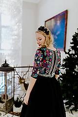 Šaty - Plisované šaty Slavianka - 10329530_