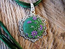 Náhrdelníky - Zelený náhrdelník - 10332005_