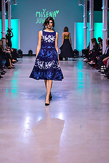 Šaty - Kolekcia Inšpirácie - modrotlač - 10328499_