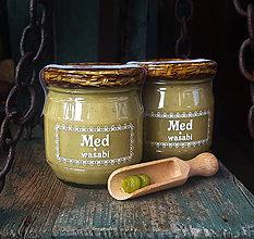 Potraviny - Pastovaný med a wasabi 240g - 10328794_
