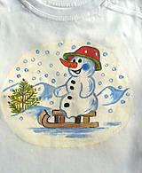 Detské oblečenie - snehuliak ... - 10328572_