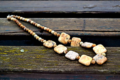 Náhrdelníky - Jaspis unisex náhrdelník - 10329452_