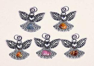 Iné šperky - Anjel lásky achát - 10330958_