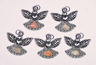 Iné šperky - Anjel lásky kalcit - 10331132_