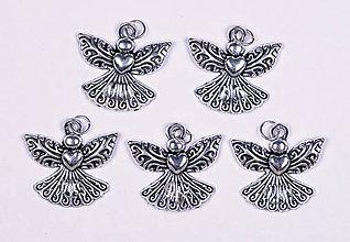 Iné šperky - Anjel lásky krištáľ - 10331152_