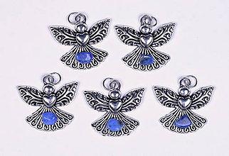 Iné šperky - Anjel lásky lapis lazuli - 10331163_