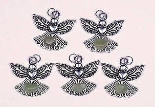 Iné šperky - Anjel lásky nefrit - 10331169_