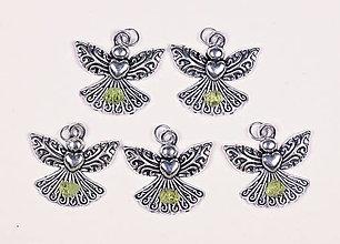 Iné šperky - Anjel lásky olivín - 10331179_