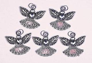 Iné šperky - Anjel lásky ruženín - 10331213_