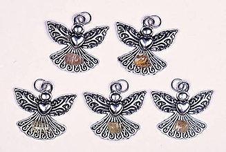 Iné šperky - Anjel lásky sagenit - 10331217_