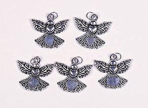 Iné šperky - Anjel lásky zafír - 10331279_