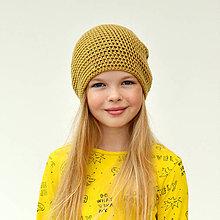Detské čiapky - Vrecová čiapka - 10328178_