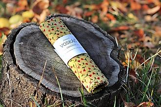 Úžitkový textil - Voskovaný obrúsok 33x33cm (tulip) - 10331992_