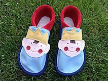 Topánočky - kozene capacky skladom VD18cm - 10328093_