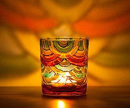 Svietidlá a sviečky - Svietnik - Dúhový - 10328249_