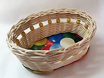 Košíky - Malý veľkonočný košíček - 10330281_