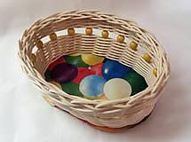 Košíky - Malý veľkonočný košíček - 10330298_