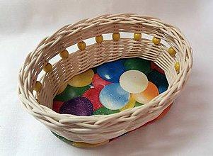 Košíky - Malý veľkonočný košíček - 10330299_