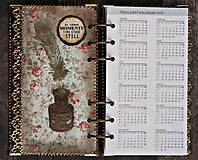 Papiernictvo - Diár krásnej víly,Diár 2021 týždenný do kabelky - 10331538_