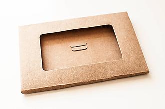 Obalový materiál - Craft/ Recy krabička-obal - 10331939_