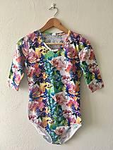 Iné oblečenie - Kvietkované body - 10329987_
